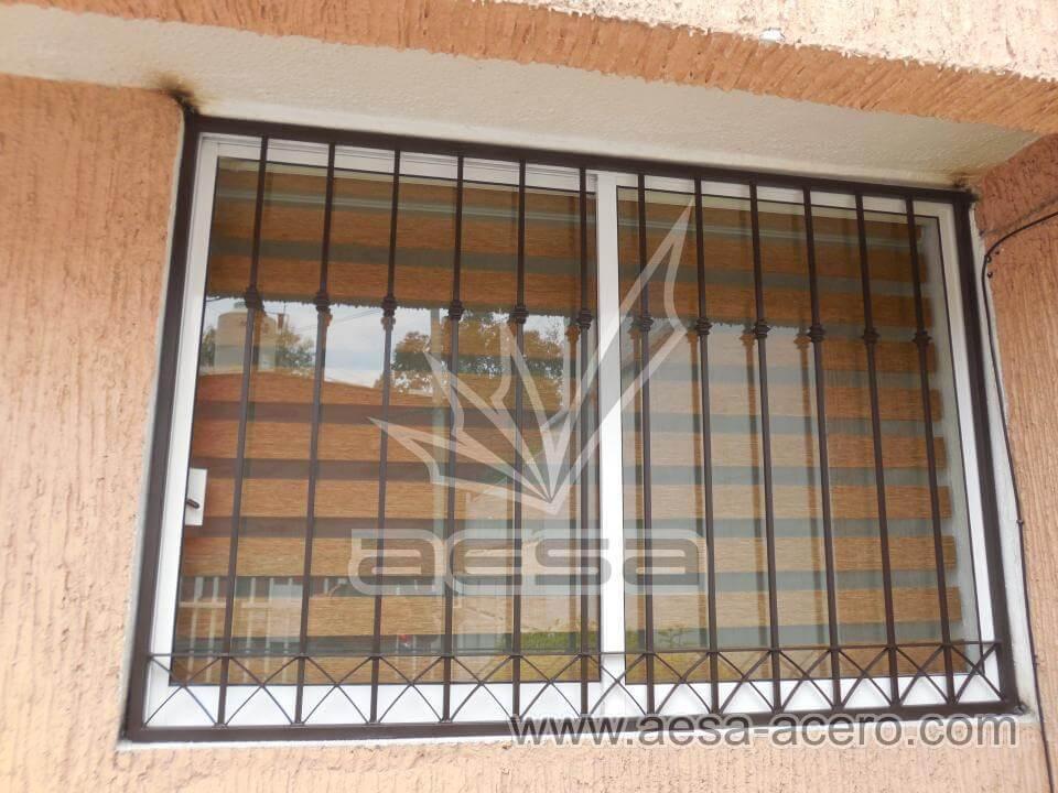 Protecciones para ventanas y puertas de herrer a cdmx for Ventanas de aluminio economicas