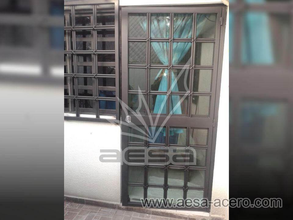 Protecciones para ventanas y puertas de herrer a cdmx - Proteccion para escaleras ...